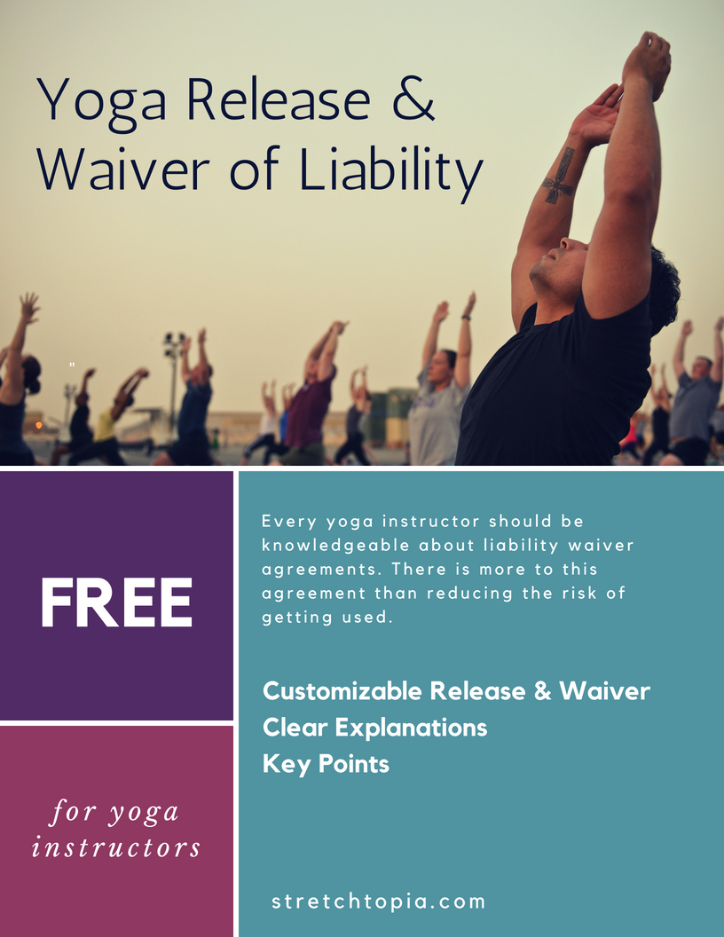 FREE Yoga Waiver Form Consent Template